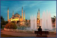 SULTAN AHMET MOSQUE – THE BLUE MOSQUE